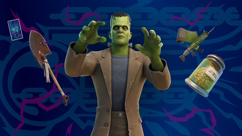 Fortnite Halloween Event Includes Classic Universal Pictures Monster Outfits Like Frankenstein and Mummy